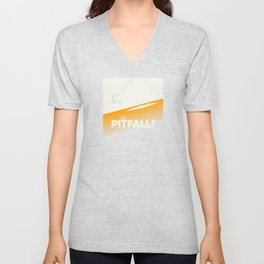 Pitfall Unisex V-Neck