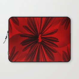 Red Origami Flowers #decor #society6 Laptop Sleeve