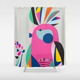 Miss galah Shower Curtain