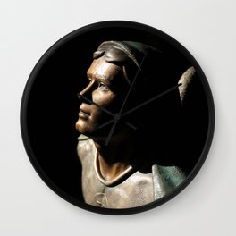 St. Michael: In the Light of God Wall Clock