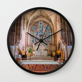 A Sacred Place Wall Clock