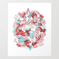 Space Deluxe Art Print