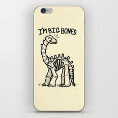Big Boned iPhone & iPod Skin