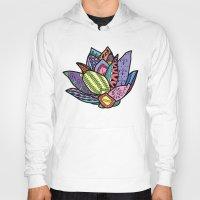 lotus flower Hoodies featuring Lotus by Ilse S