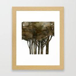 Tree Impressions No.1A by Kathy Morton Stanion Framed Art Print