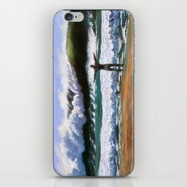 Vitruvian Surfer iPhone Skin