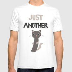 Just another cat Mens Fitted Tee White MEDIUM