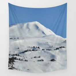 Back-Country Skiing  - VI Wall Tapestry