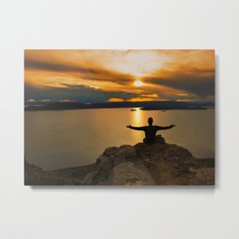 With Arms Wide Open Metal Print
