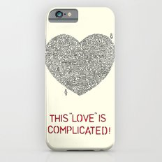 Complicated Slim Case iPhone 6s