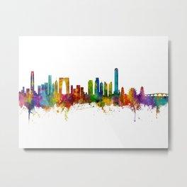 Suzhou China Skyline Metal Print