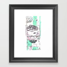 Gone London Framed Art Print