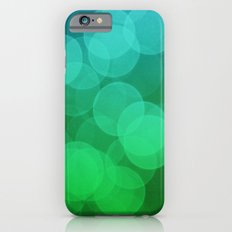 Blue Green Ombre Bokeh Slim Case iPhone 6s