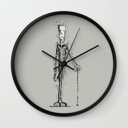 Shell shock Wall Clock