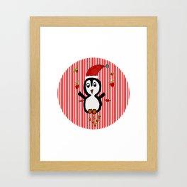 My Penguin | Christmas Spirit Framed Art Print