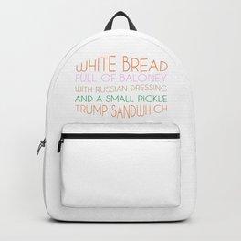 Trump Sandwhich Backpack