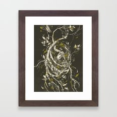 The Mangrove Tree Framed Art Print