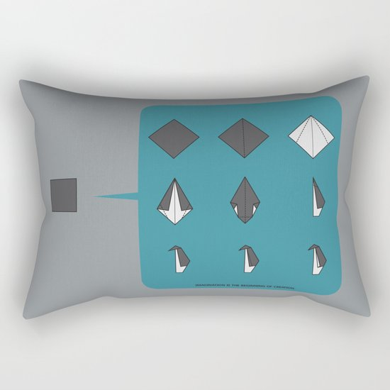 Imagination Is The Beginning Of Creation Rectangular Pillow