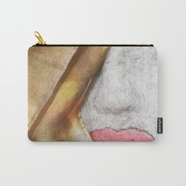 A Mouth Full of Silk Carry-All Pouch