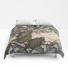 predator/prey Comforters