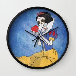 Day of the Dead/Snow White Wall Clock