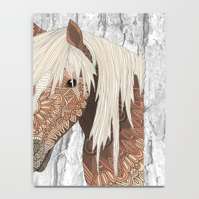 Haflinger Horse Notebook
