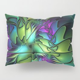 Colorful And Abstract Fractal Fantasy Pillow Sham