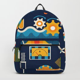 Mod Science Matters Navy Backpack