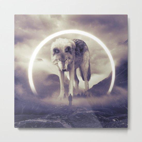 aegis II   wolf Metal Print