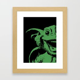 Happy Gargoyle Framed Art Print