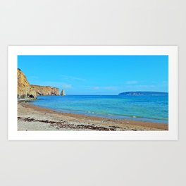 Perce Beach panoramic Art Print