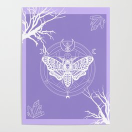Witch Craft Lavender Poster