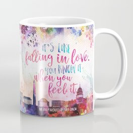 The Lovely Reckless - Like Falling in Love Coffee Mug