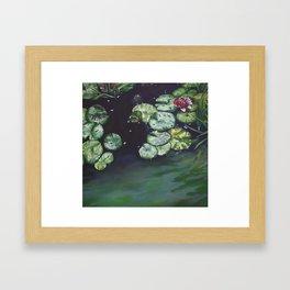 Water meditation I Framed Art Print