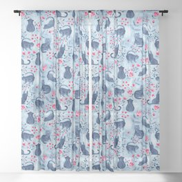 Folksy Fur Baby Sheer Curtain