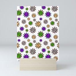 viruses Mini Art Print