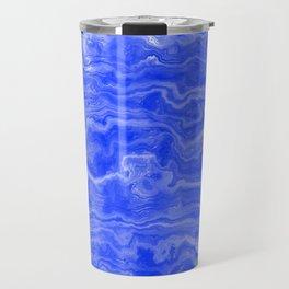 Egyptian Marble, Lapis Blue Travel Mug