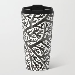 Black Fan Coral Travel Mug