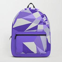 Diamond Purple Mandala Backpack