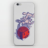 cabin iPhone & iPod Skins featuring Cabin by Devin Soisson