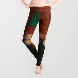 Pencil and Paint V Leggings