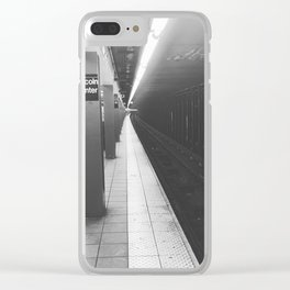 Lincoln Center Subway Clear iPhone Case