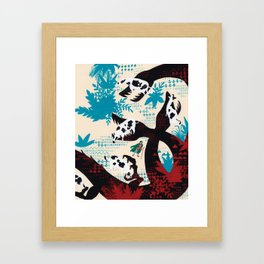 Russian Folk Tales - The Crystal Mountain Framed Art Print
