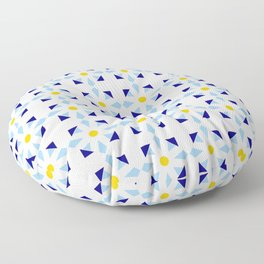 rosace and star 1 Floor Pillow