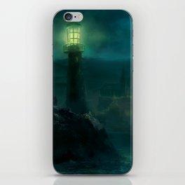 Haunted Fishing Village iPhone Skin