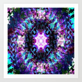 Illusions in time... Art Print
