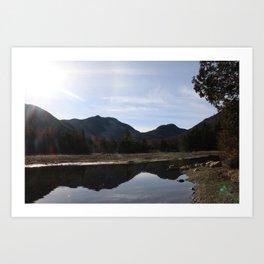 High Peaks Upstate New York Lake Placid Art Print