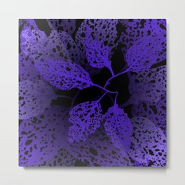 indigo forest Metal Print