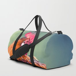 Colorful Rooster Duffle Bag