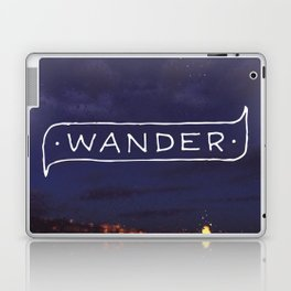 Not all those who wander are lost // #TravelSeries Laptop & iPad Skin
